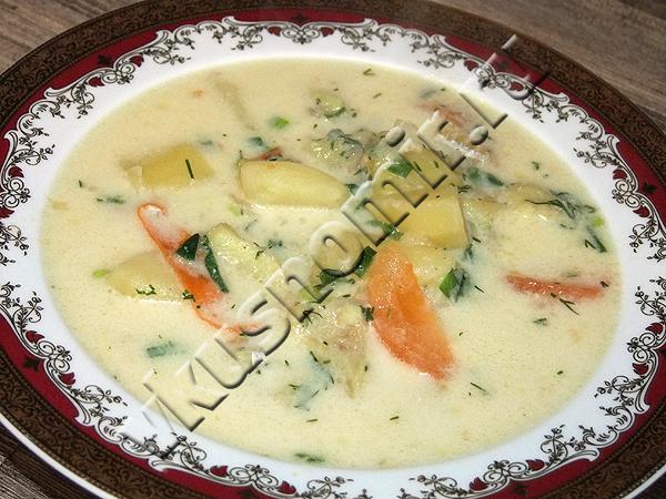 Суп филе трески рецепт фото